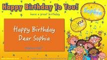 Jump Singers - Happy Birthday Dear Sophia (For Playtime)