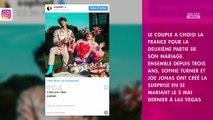 Sophie Turner : le lieu de son nouveau mariage avec Joe Jonas dévoilé