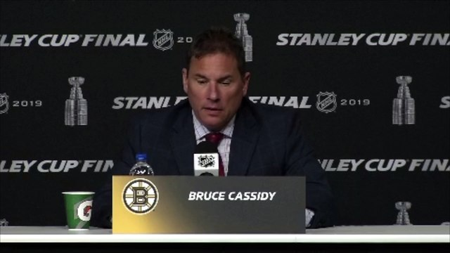 Bruce Cassidy On Bruins Falling Short In Game 2 vs. Blues