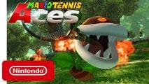 Mario Tennis Aces - Trailer Plante Pyro-Piranha