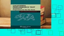 Review  California Performance Test Workbook: Preparation for the Bar Exam - Mary Basick