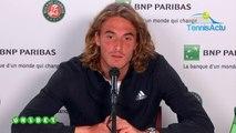 """Roland-Garros 2019 - Quand Stefanos Tsitsipas trouve que """"son père qui le coache parle trop... !"""""""