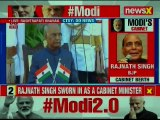 Narendra Modi swearing-in ceremony: Cabinet Ministers takes Oath