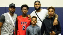 Zaire Wade, LeBron James Jr. Reportedly Forming New Superteam in High School