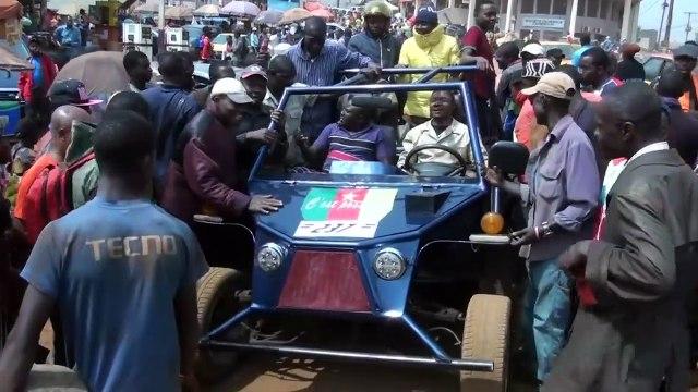 Afrique : un jeune mécanicien construit une voiture Made in Cameroun