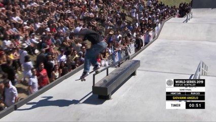 Giovanni Angelo | 1st place - SNIPES Skateboard Street Pro Semi Final | FISE Montpellier 2019