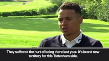 (Subtitled) Tottenham are supernatural' - Jenas ahead of CL final.