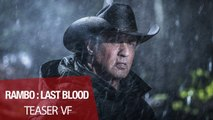 Rambo: Last Blood Bande-annonce Teaser VF (Action 2019) Sylvester Stallone, Paz Vega