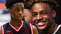 Bronny Jr Will Play Alongside Zaire Wade On STACKED New High School Team In Los Angeles!