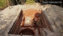 Great Video Dig To Build Most Amazing Underground Swimming Pool And Underground Villa House