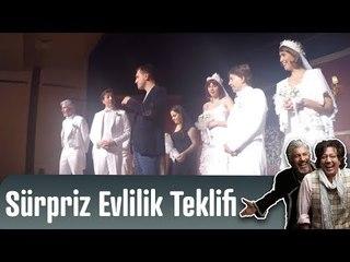 Marko Paşa Müzikali - Tiyatroda Sürpriz Evlilik Teklifi (2. Sezon)