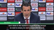 Some players need to leave - Emery