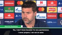 I am not an actor! - Pochettino not planning celebration