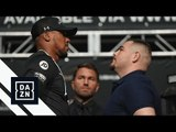 Anthony Joshua & Andy Ruiz Jr. Face-Off For First Time
