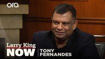 Tony Fernandes describes the moment he decided to buy an airline