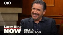 Craig Ferguson explains the meaning behind the title of his memoir 'Riding the Elephant'
