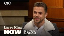 Dancer Derek Hough on what happens if you fall during a performance
