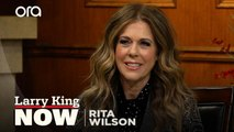 """""""I grew up in Hollywood"""": Why Rita Wilson's Walk of Fame star is particularly meaningful"""