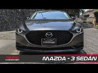 Mazda 3 Sedán a prueba - CarManía (2019)