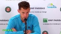 Roland-Garros 2019 - Dominic Thiem s'attendait aux services à la cuillère