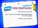 ZOOM IN   Seminario Internacional Química   Historia, Filosofía y Educación