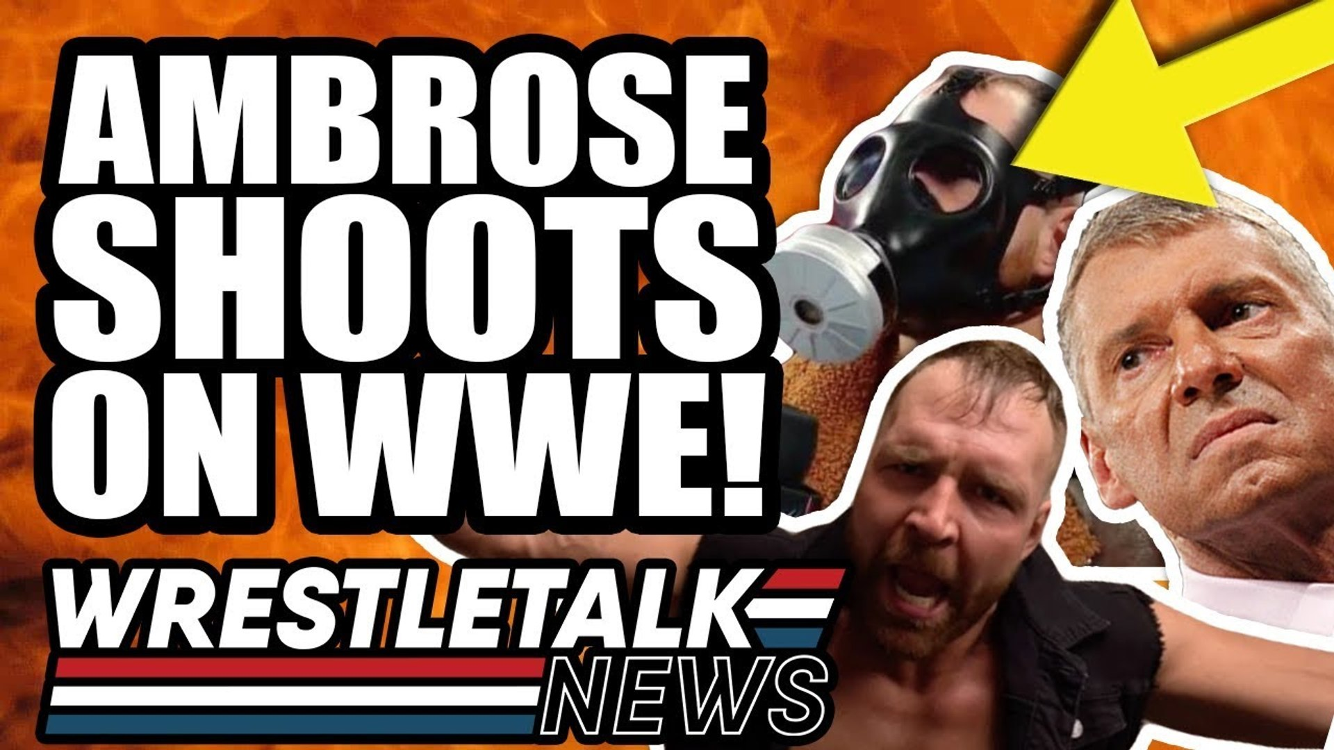 WWE BANS AEW Signs?! Dean Ambrose SHOOTS On WWE! | WrestleTalk News May 2019
