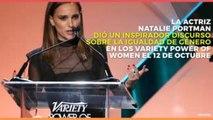 Entretenimiento | El inspirador discurso de Natalie Portman
