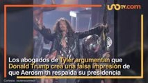 Entretenimiento | Steven Tyler de Aerosmith ordena a Trump no usar su música