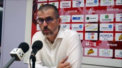 Matchs - En conférence de presse : J.A.VCM / Gries-Ob. (Playoffs Pro B)