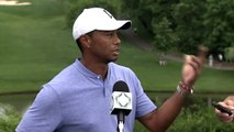 Reaction from Tiger Woods after opening round of The Memorial