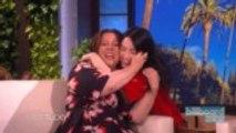 Billie Eilish Scares Melissa McCarthy In the Best Way on 'Ellen'   Billboard News