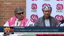Farc Leader Jesus Santrich Is Finally Free