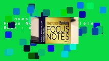 Investment Banking Focus Notes  Best Sellers Rank : #3
