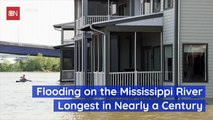 Flooding On The Mississippi River Is Bad