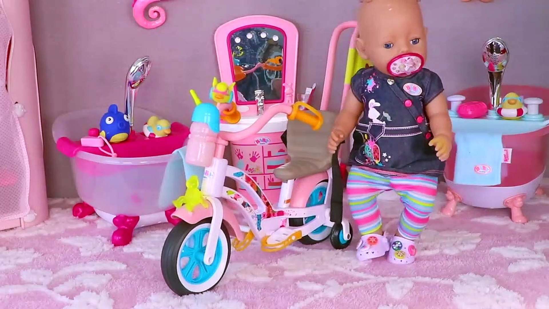 Baby Born Doll Twins Sleeping In Bunk Beds Toys Play Video Dailymotion