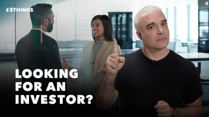 Do This Before You Look for an Investor (60-Second Video)