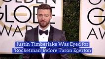 Justin Timberlake Almost Played Elton John