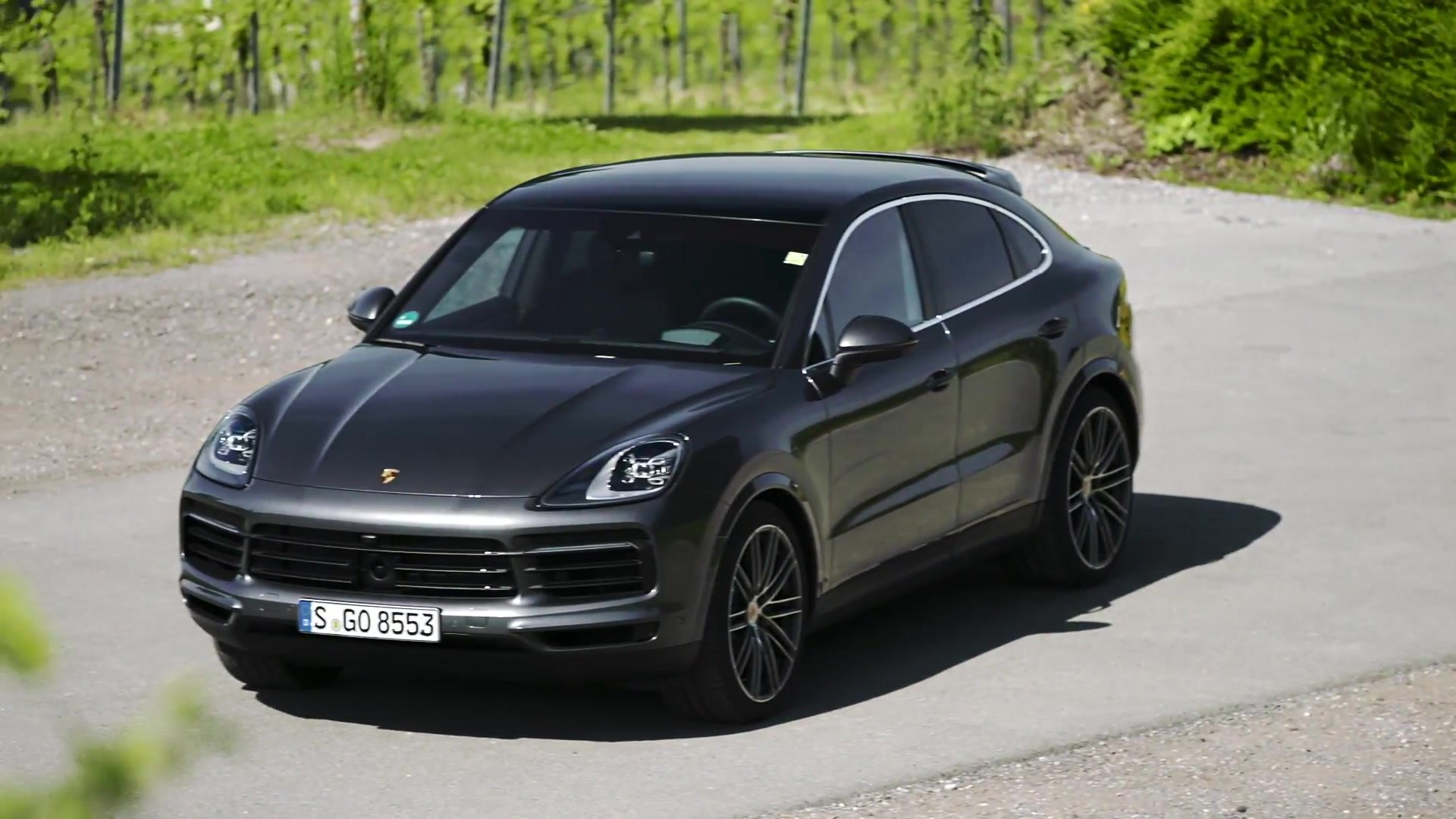 Porsche Cayenne S Coupe Design In Quarzite Grey Video Dailymotion