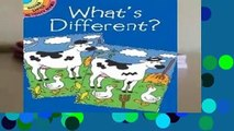 [MOST WISHED]  Whats Different (Dover Little Activity Books)