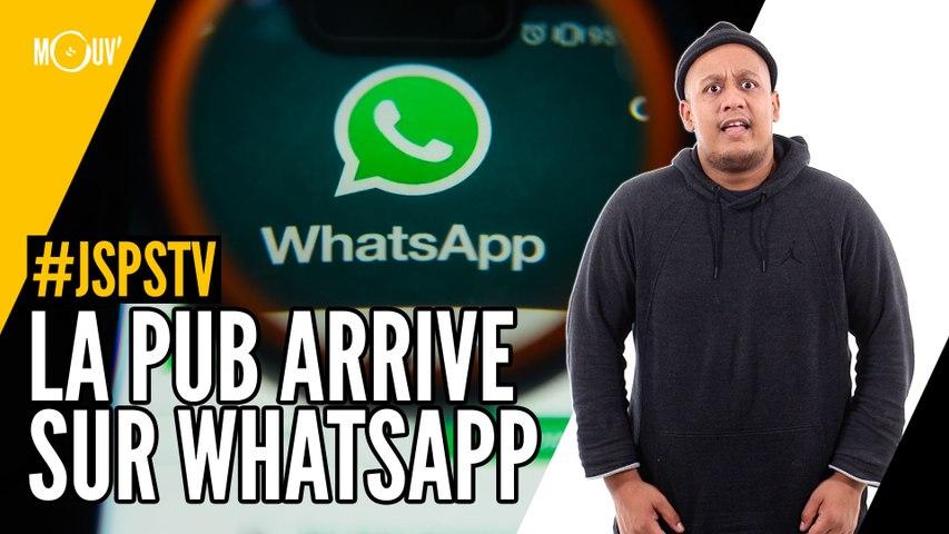 Je sais pas si t'as vu... La pub arrive sur WhatsApp