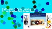 Full version  Wills Eye Handbook of Ocular Genetics  Best Sellers Rank : #1