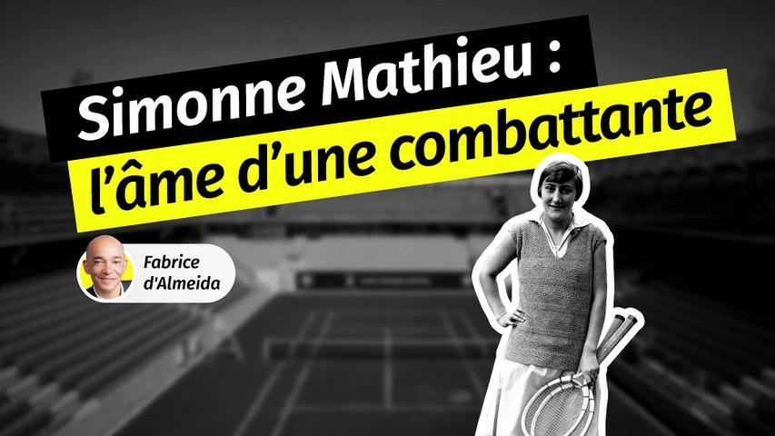 Qui était Simonne Mathieu, la femme qui a donné son nom au nouveau court de Roland-Garros ?