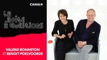 La Boîte à Questions - Avec Valérie Bonneton et Benoît Poelvoorde – 29/05/2019