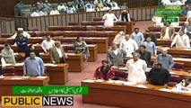 Government & Opposition members got in a physical fight during Parliament session