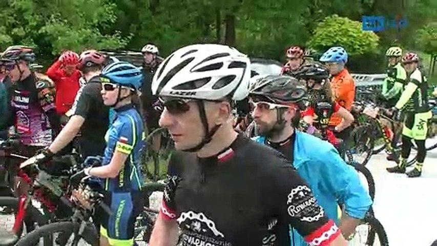 Wyścig rowerowy MTB na Górze Chełmskiej