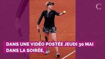 """VIDEO. Roland-Garros 2019 : Gaël Monfils se fait """"recadrer"""" par sa chérie Elina Svitolina et c'est très drôle !"""