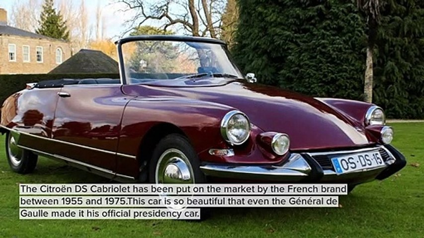 THE MOST BEAUTIFUL VINTAGE CARS