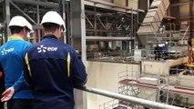 La centrale thermique de Blénod-lès-Pont-à-Mousson est en maintenance