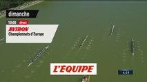 Championnats d'Europe 2019 à Lucerne, bande-annonce - AVIRON - CHAMPIONNATS D'EUROPE