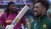 World Cup 2019 PAK vs WI: Chris Gayle depart for blistring 50, Mohammad Amir strikes| वनइंडिया हिंदी